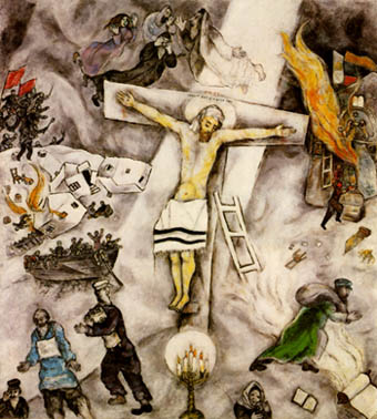 M. Chagall, crocefissione bianca